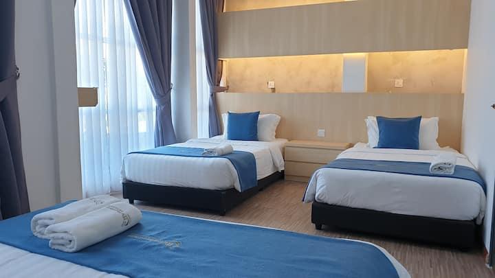 Kuah,Langkawi@2 Bedroom Suite 2 (Max 6 pax)