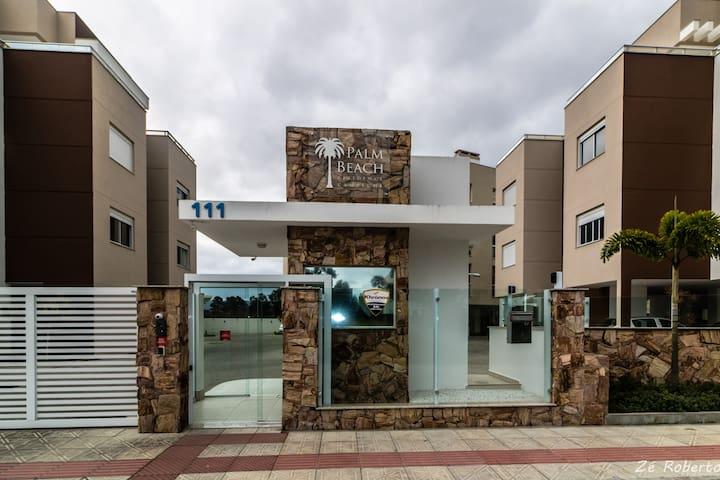 Palm Beach Campeche - Apartamento na praia