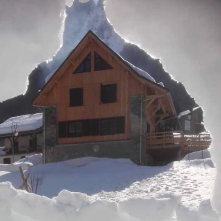 Chalet avec sauna de 14 pers.