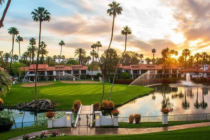 Rancho Mirage condo golf course view, Coachella