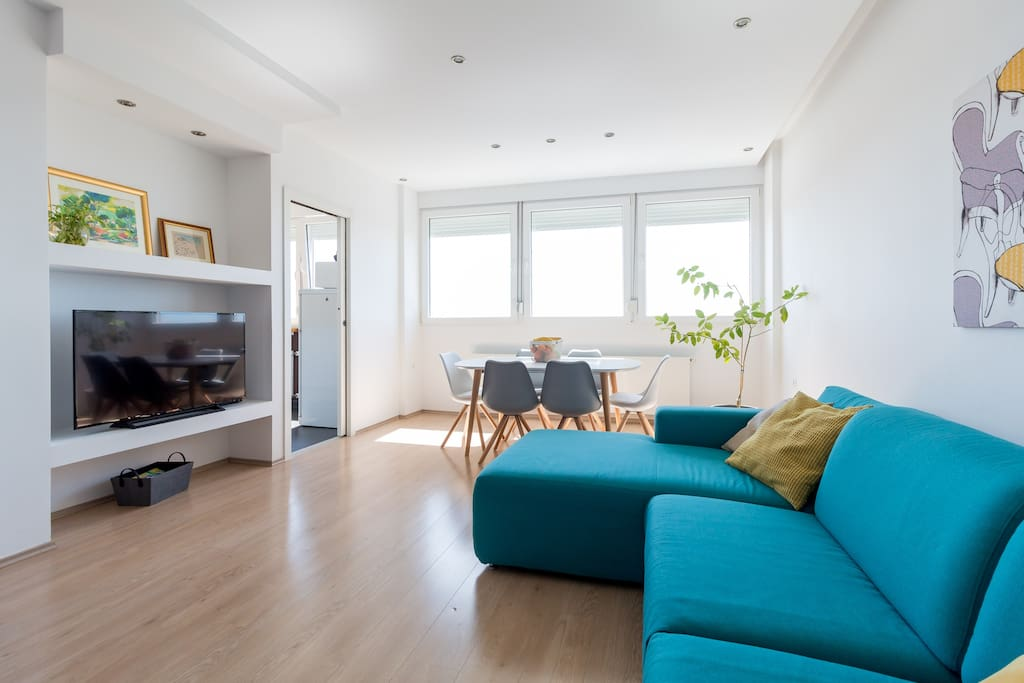 Welcome to Bright&Light stylish apartment! It's all about the comfort - clean and simple interior design