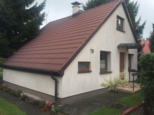 Dom piętrowy nad jeziorem las rower - Prądocin - Rumah