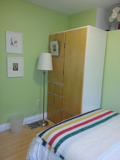 second photo of bedroom for rent, with double bed