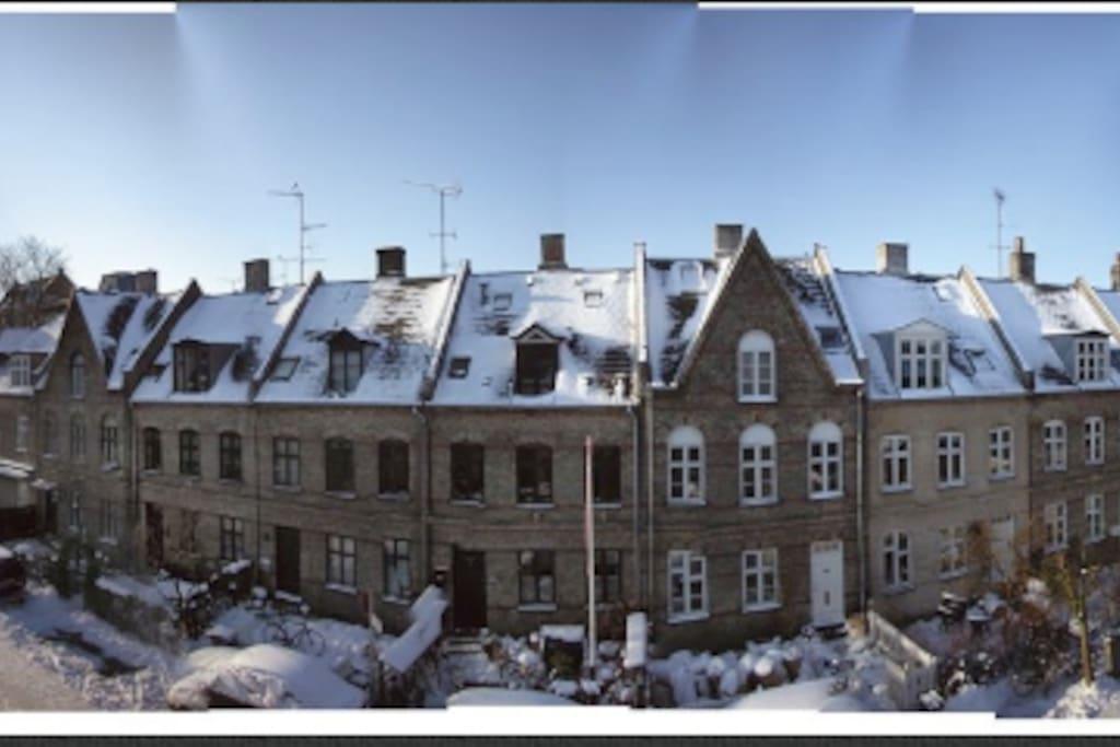 Charming house central copenhagen h user zur miete in for Unterkunft kopenhagen