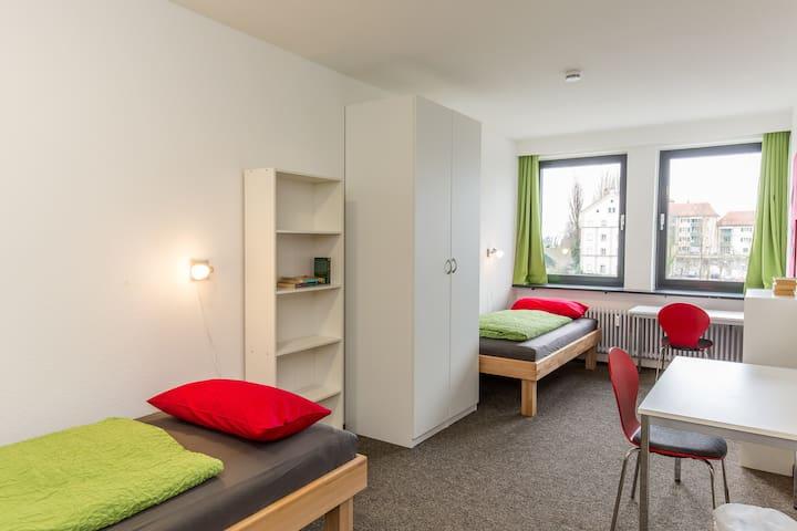 Inselhostel - Zweibettzimmer