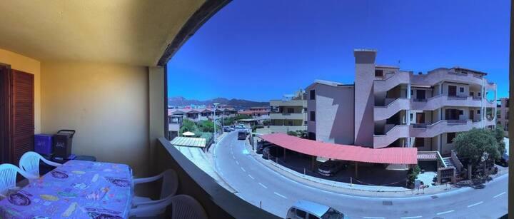 Olbia Marina - Fast WiFi - Terraces view