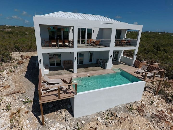 Ponciana House Private Villa: Pool, Ocean View