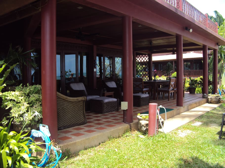 House Front Terrace