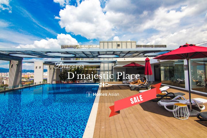 D'majestic Place by Homes Asian - King Suite.D128