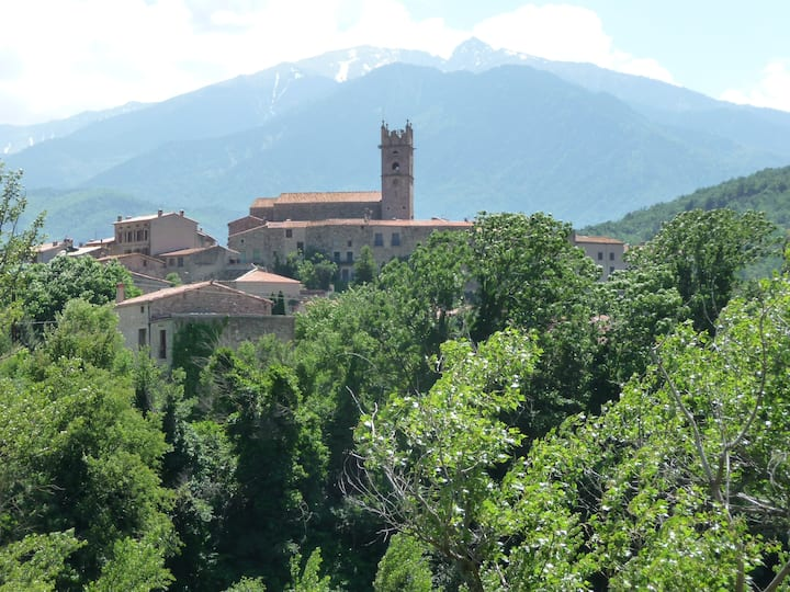Maison Anis, character village house, great views!