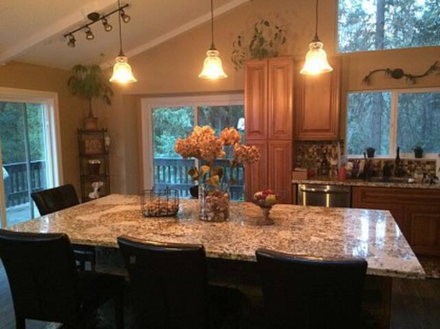 Large Open Great Room Main Space with access to warp around deck space...