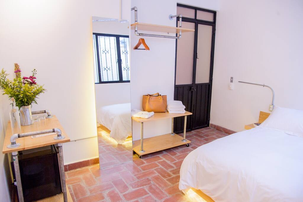 Agrado guest house oaxaca single standard boutique for Boutique hotel oaxaca