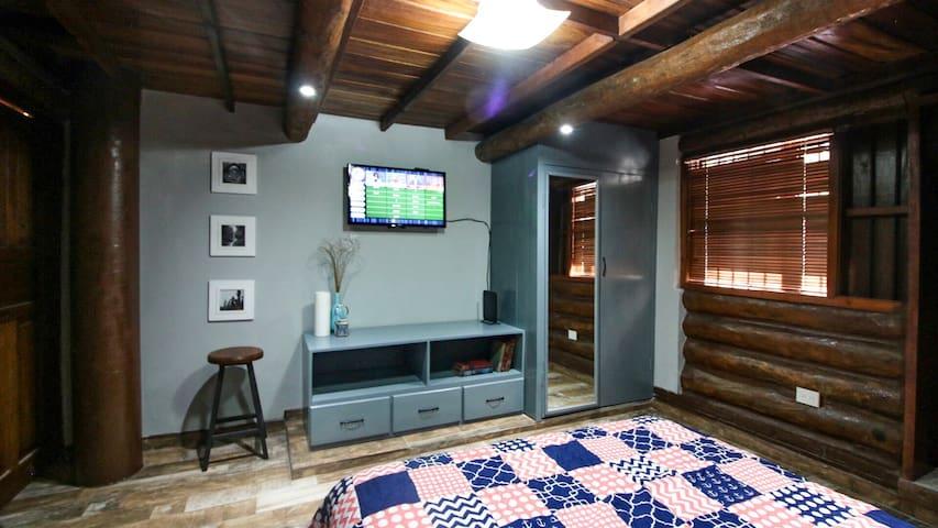 Habitación tipo cabaña (todos los servicios)