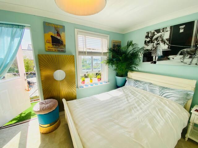 *Updated 2020* Art Deco Style Bedroom + Riverviews