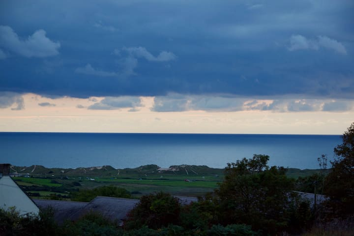 A September view from your room.7.30pm.