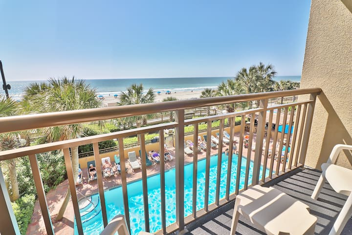 Comfort w/ pool views at desired Holiday Pavilion.
