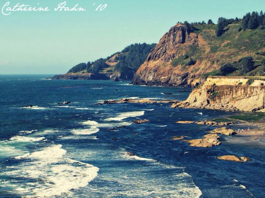 Beautiful Oregon Coastline