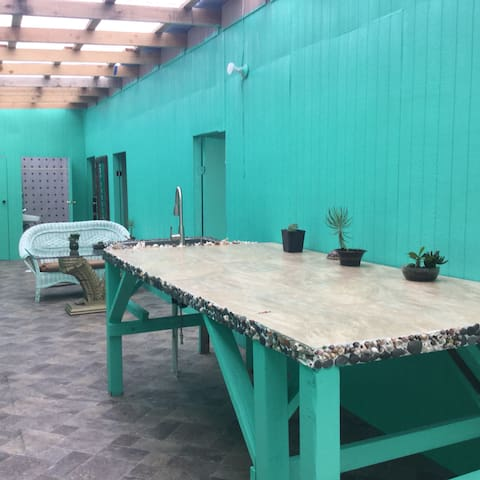 New private room in tropical farm