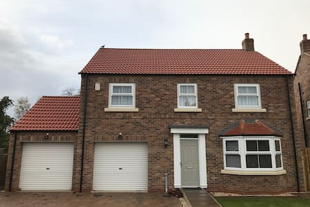Large 4 bedroomed house,which is under occupied. - York
