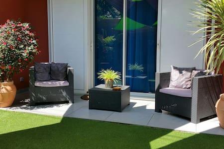 Appartement de charme meublé à 2 pas de la plage