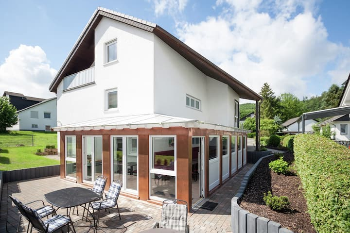 Enchanting Holiday Home in Bödefeld with Private Terrace