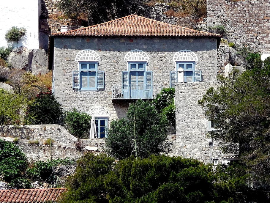Our house in Hydra