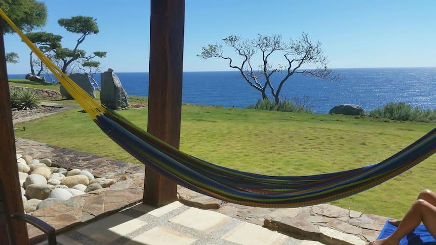 Lux Villa on the Cliff, Huatulco. - Santa Maria Huatulco - Dom