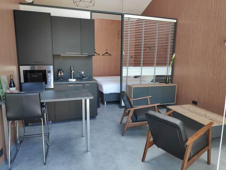 Luxe studio met IR sauna (studio Braec)