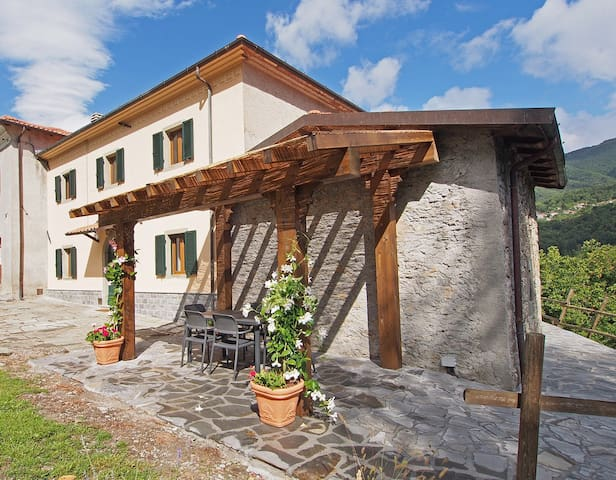 Beautiful Tuscan Farmhouse - Uglianfreddo Ai Cerri - 獨棟