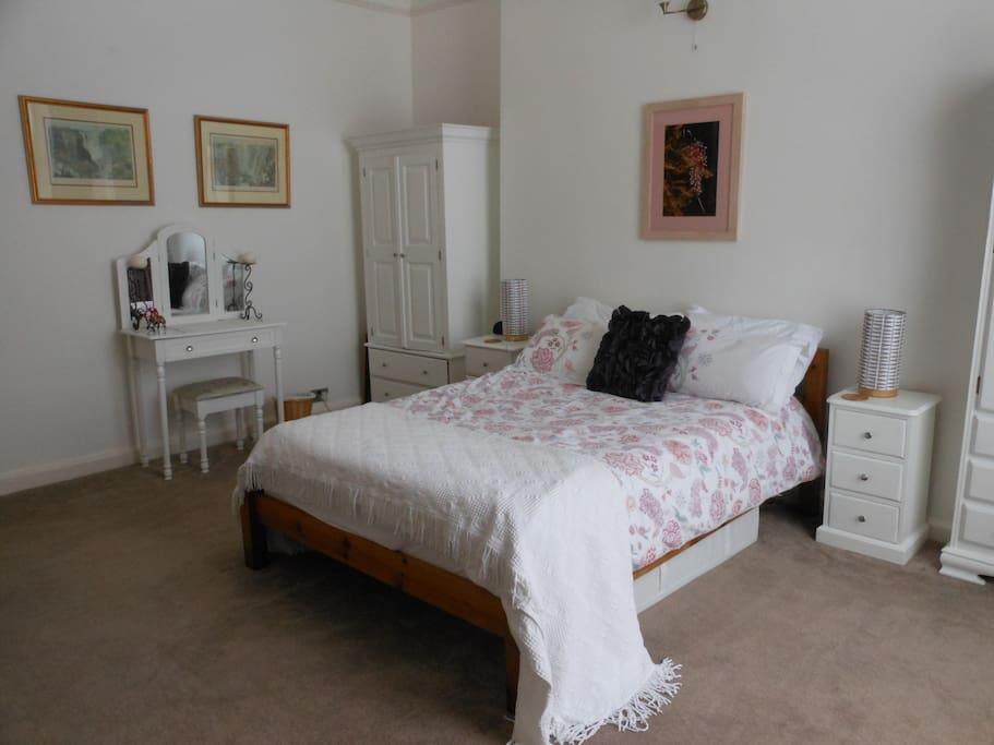 Modern, with a fresh decor