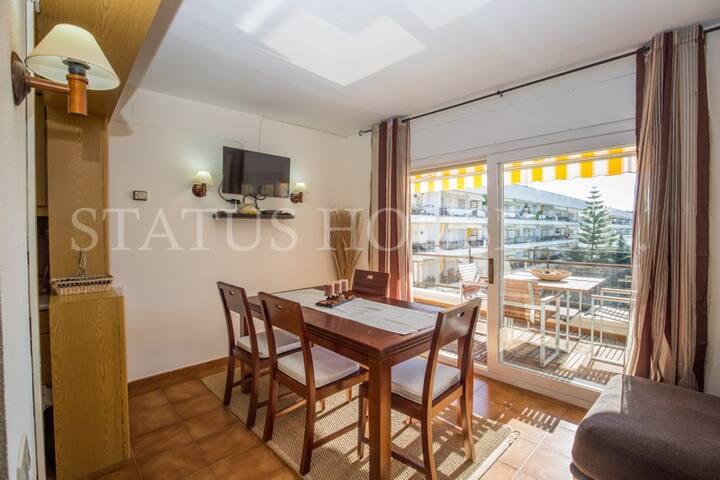 Idyllische Wohnung nahe Strandes - Lloret de Mar - Pis
