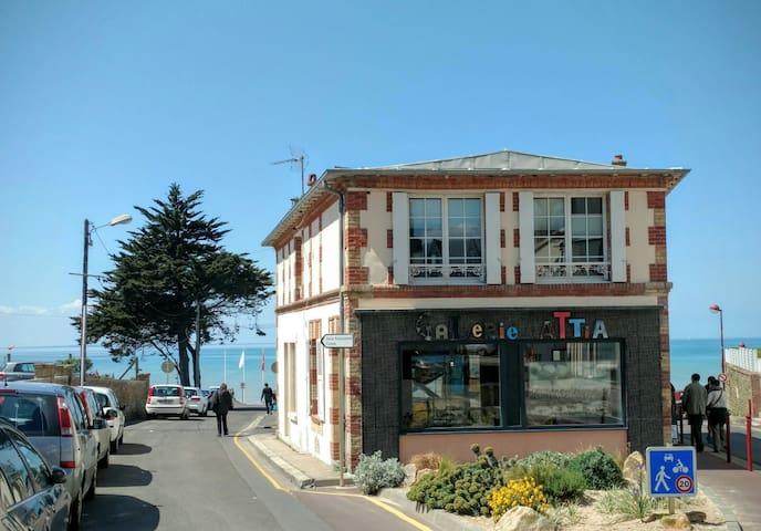 Appartement de charme en bord de mer - Saint-Pair-sur-Mer - Rumah