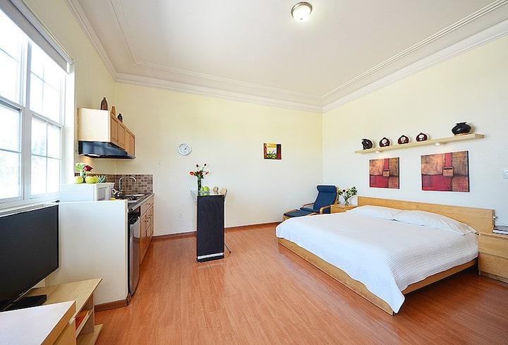 Confortable Loft con terraza privada