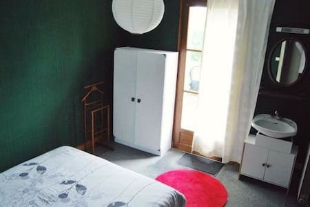 Chambre avec salle de bain - Garat - Ev