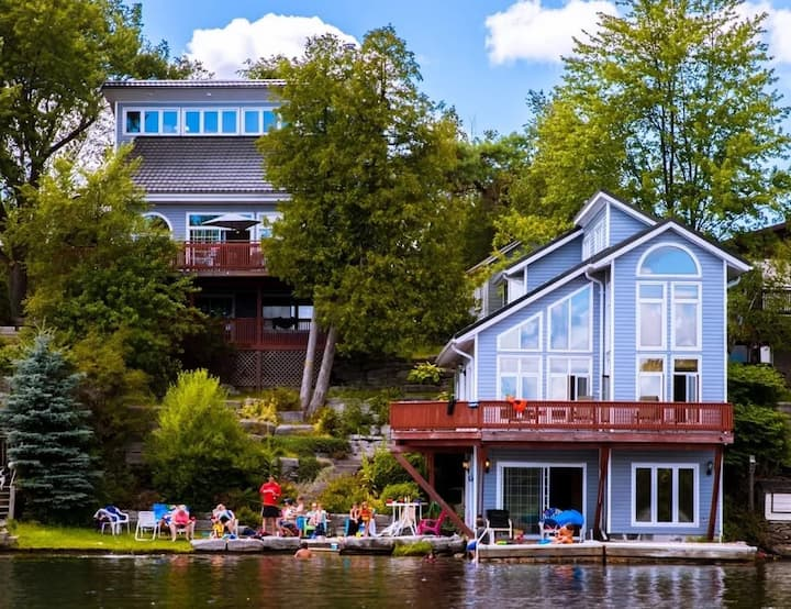 Kawartha Luxury Waterfront Home! Live In Boathouse!