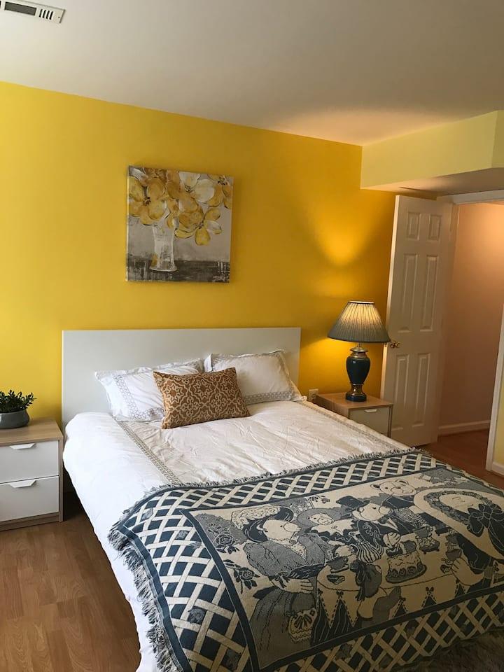 Large Stylish Room$900 mo