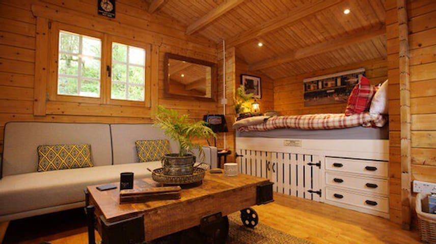 Cabin interior.