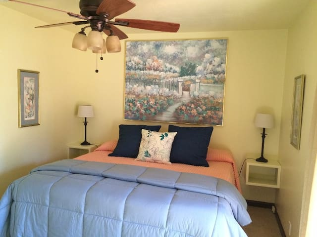 Master bedroom w/king bed (downstairs)
