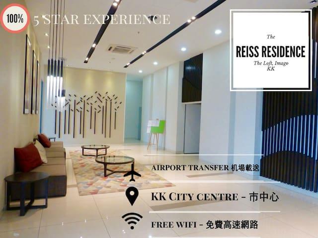 The Loft- Cozy 2Bdr @City Centre 两房两卫一厅一厨最美市中心观景公寓 - Kota Kinabalu - Apartment