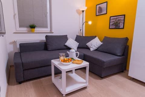 M&B'nin popüler ve rahat evi + ücretsiz otopark ve WiFi