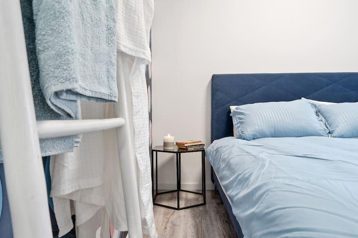 Отдельная спальня номер 3 в апартаментах