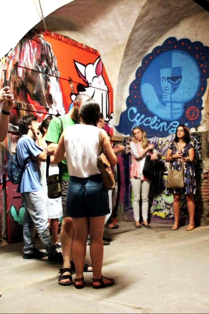 Underground raw art