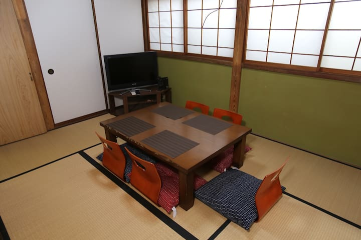 Whole House Near Ninja Temple Free WIFI and Pickup - Kanazawa-shi - Talo