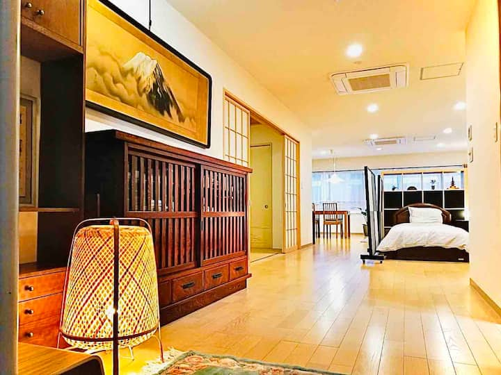 Private Flat/Easy access to TDR and Makuhari Messe