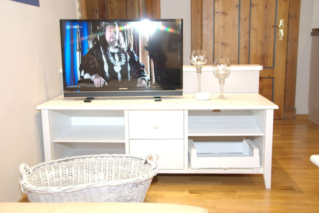 Fltsreen TV und DVD Player