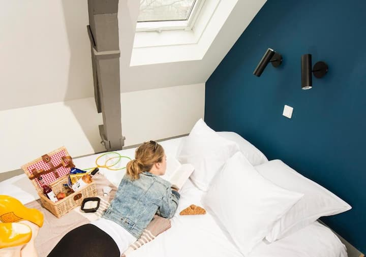Eco-friendly Cozy Double Room in the Westerpark