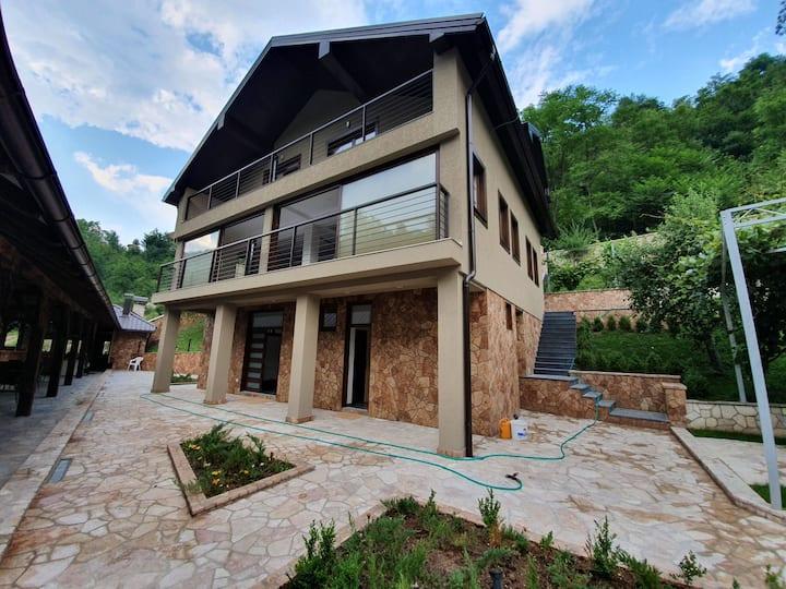 Luxury Villa with Private River