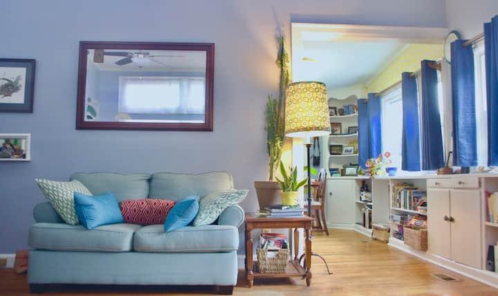 Charming Bright Eco-Friendly Garden Home