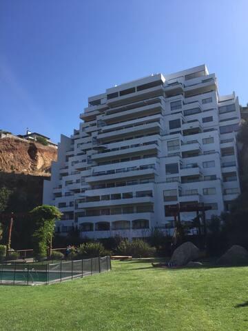 Departamento Jardin del Mar para 6 personas - Viña del Mar - Apartment