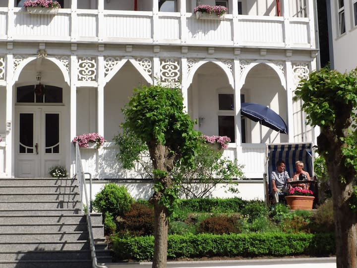 Strandnah -Apartm. für 2-4 (FW 10)-Wilhelmstr. 20